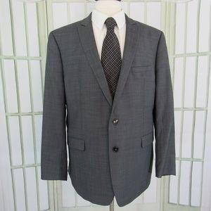 Calvin Klein extreme slim fit gray 48R suit jacket
